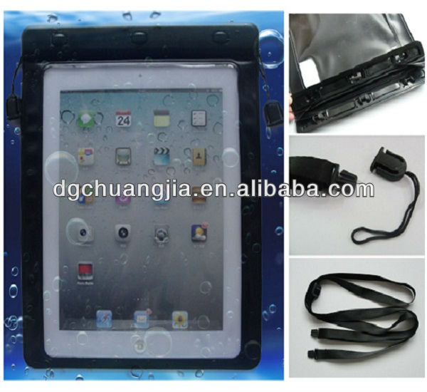 wholesale high quality pvc waterproof case for ipad 3