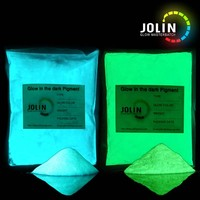 beautiful and good blue glow in the dark paint phosphorescent pigment car paint pearl powder