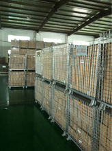 storage mesh container replacement of wooden cases save space wire mesh cage in factory