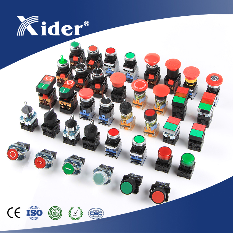 Professional metal momentary pushbutton switch with CE&ISO
