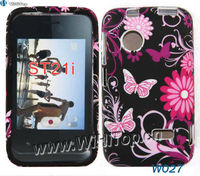 Soft TPU Case for sony Xperia Tipo ST21i,Flower printing