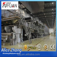 high speed 3200 paper making machine for Art PAPER, high quality paper making mill