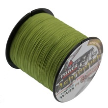 large stock 0.1-0.55mm 4 strands 300 meters 6--100 LB PE braided fishing line super strength line fishing tackle