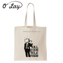 Long Strap Calico Handbag Women Canvas Shopping Tote Bag