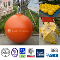 10 ton buoyancy cylindrical inflatable offshore water buoy for sale