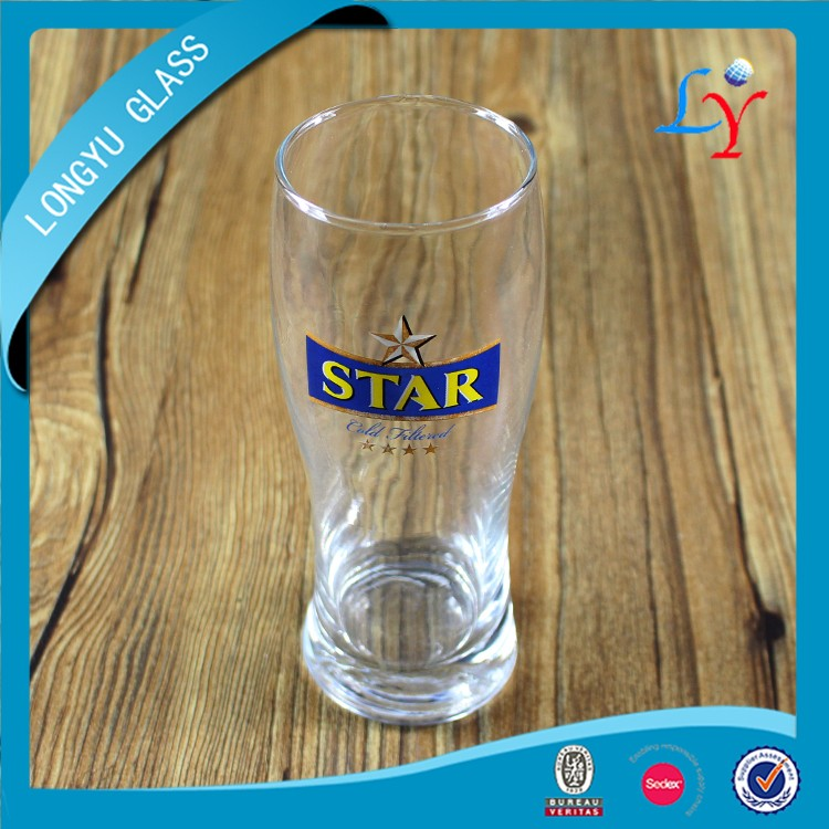 cheap cup glass beer 400ml pilsner beer glass