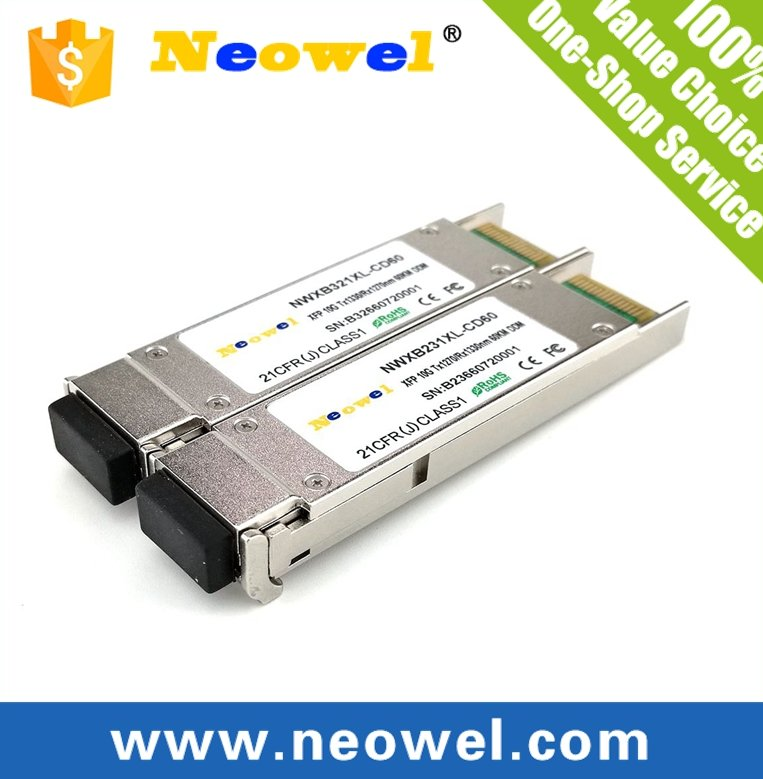 10GBASE 60km BiDi XFP transceiver compatible with Cisco, H3C, HP, Huawei,ZTE