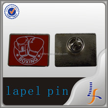 high quality custom pin badges metal badge alphabet letter