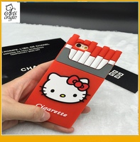 For iPhone 6 6Plus case funny cigarette box cool original style soft silicone shockproof cell phone case
