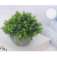 Small Artificial Topiary Potted Plant Ornamental