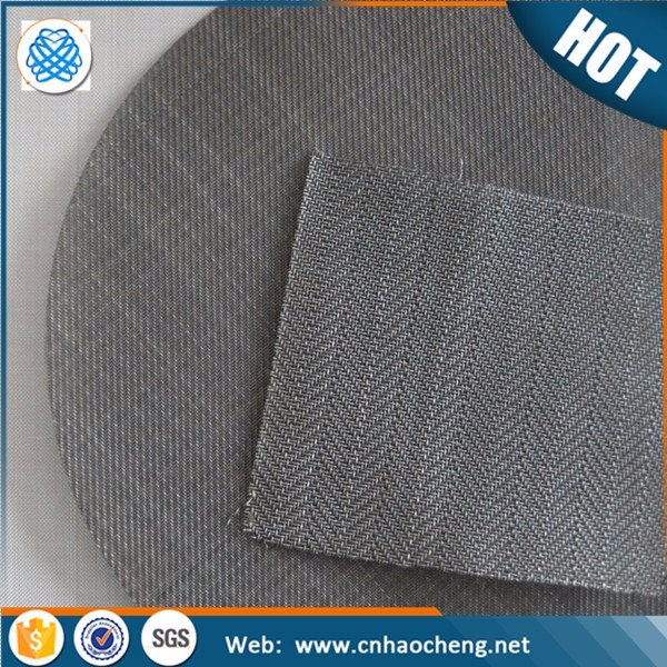 40 mesh 60 mesh Plastic extruder fine mesh screen filter disc