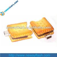 biscuit shape usb flash drive food ubs driver