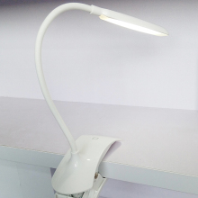 1.5W CLIP LED table lamp, rechargeable led desk lamp, USB charger desk light