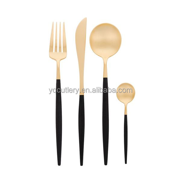 High Quality Stainless Steel High Polish Colour Cutlery