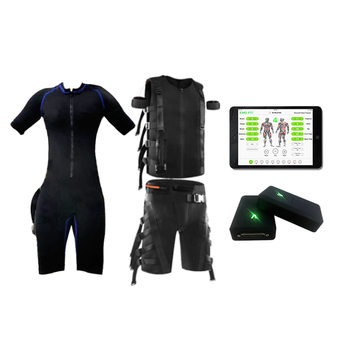 Professional Gym Hybrid Wired & Wireless Fitness EMS Machines / EMS Body Training Suits