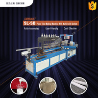 Full Automatic Computerized Paper Pipe Making Machine
