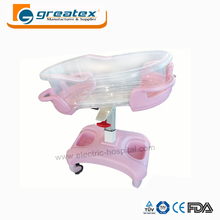 Hot sale baby cart hospital transport pediatric bed