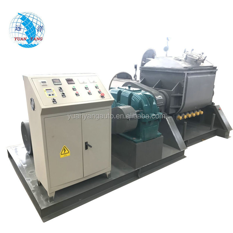 500L Vacuum screw extrusion Double Z Blade Sigma Kneader Mixer machine for Silicone sealant making