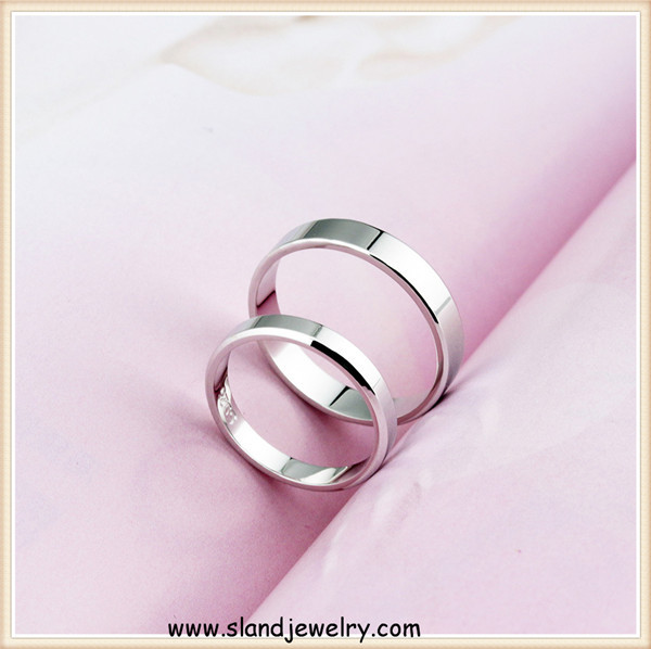 Wholesale top quality mens band type blank 925 silver ring base for engraving DIY ,Plain pure silver unisex rings jewelry
