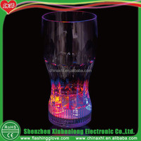 Christmas decoration LED flashing beer cup, plastic beer cup, flashing led plastic cup
