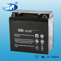 China battery maker 12v dry cell battery for motorcycle