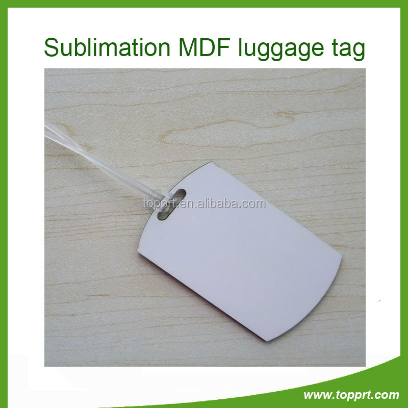 Custom photo baggage tag,personalize photo luggage tag,diy printed hardboard baggage tag