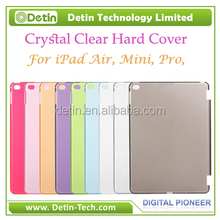 Crystal Clear Hard PC case for ipad factory sell bulk blank tablet case For ipad 2 cover case