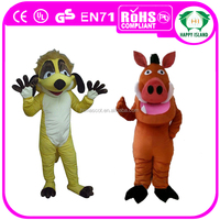 HI CE Fancy timon & pumba costume for adult