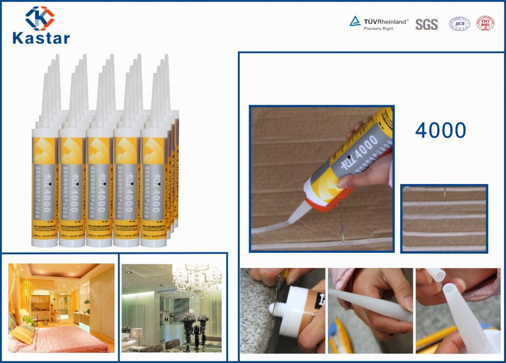 China supplier epoxy silicone glue for electronic component