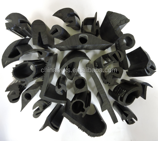 high quality extrusion rubber gasket for car window