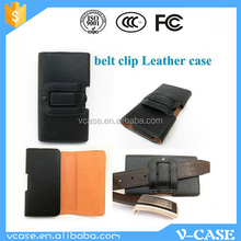 New belt clip flip soft PU leather phone case cover for nokia lumia 720