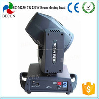 High quality 230w 7r beam sharpy led moving head light