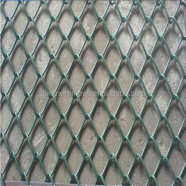 Trade Assurance Security Plastic Coated Chain Link Fence