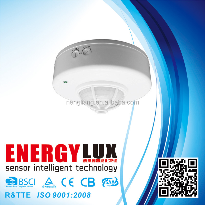 ES-P10A motion sensor/movement detector/light sensor switch