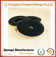high level black 70 density rainproof acoustic seal PVC rubber seal strip