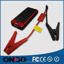 ONBO OEM 12000 mah protable car jump starter with LCD laptop charging hot selling emergency car jump starter