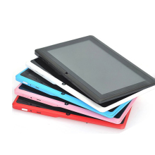 7 inch China Factory Supply Tablet PC With Silicone Case Network Wifi With Bluetooth 2.0