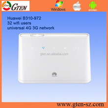 Real stock huawei B310 4G LTE CPE Wireless support 32 wifi devices