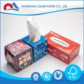 3Ply Soft White Virgin Pocket Facial Tissue