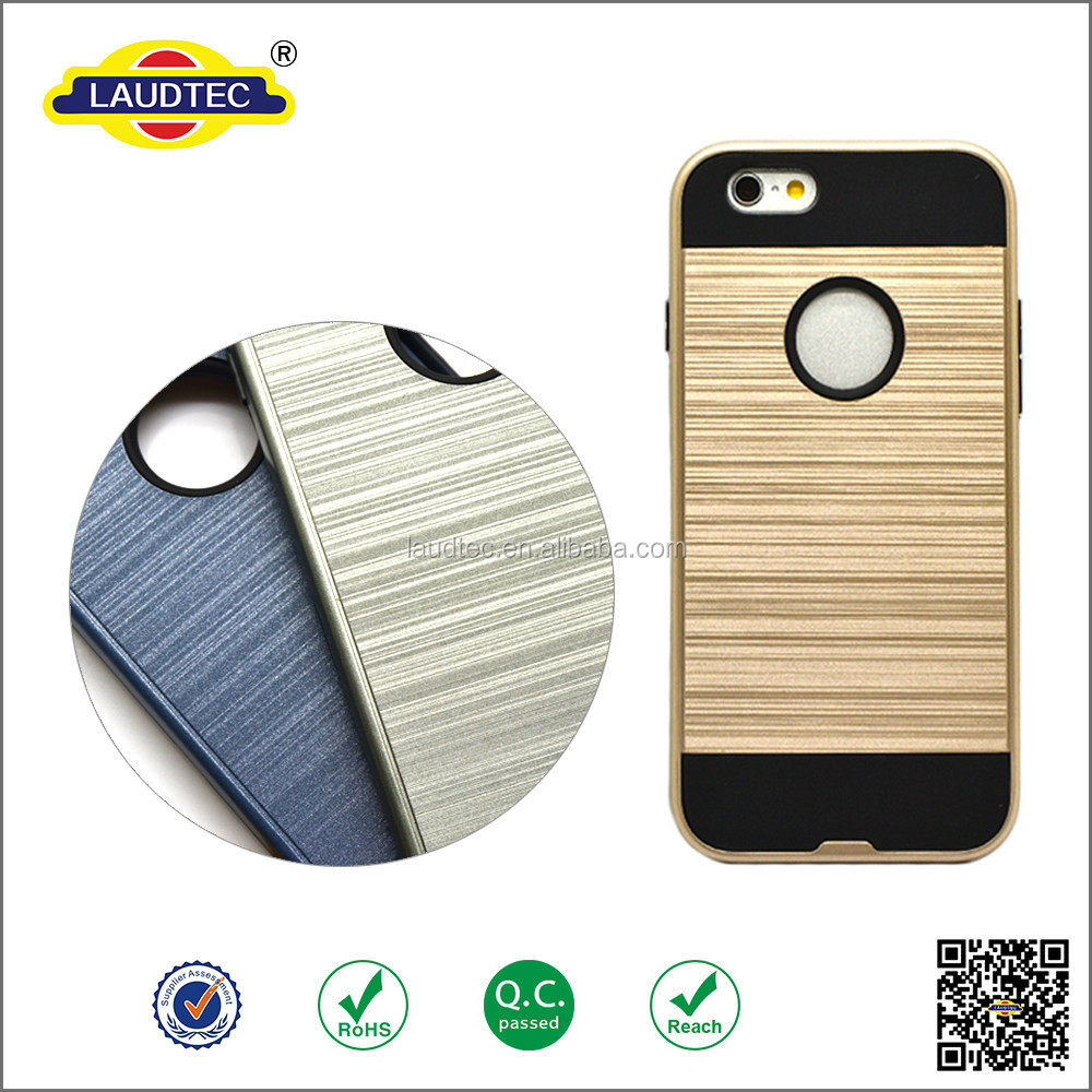 China cellphone accessories Brushed aluminum cover case for Iphone5,6, 6plus, aluminum cover for iphone 6