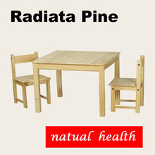 wooden chrildren table and chair pine wood study table