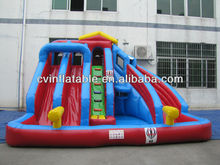 water slide for inflatable pool / inflatable water slide pool