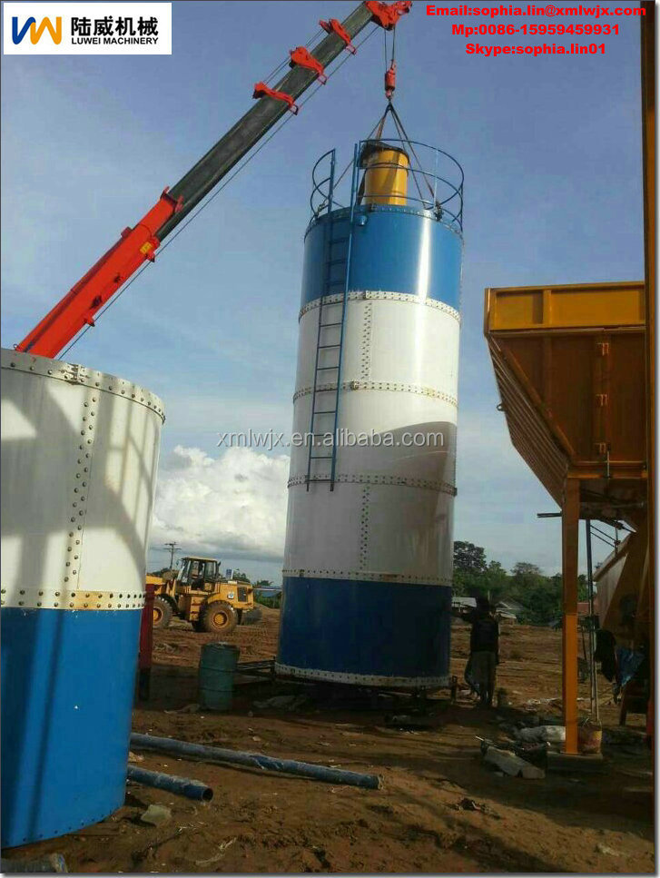 panel cement silos for dry mortar plant
