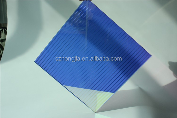 2018 new design colorful rainbow tempered decorative glass