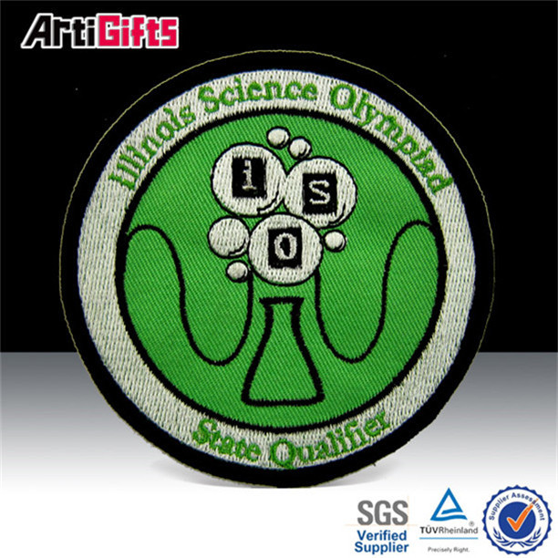 Cheap custom embroidered security badges