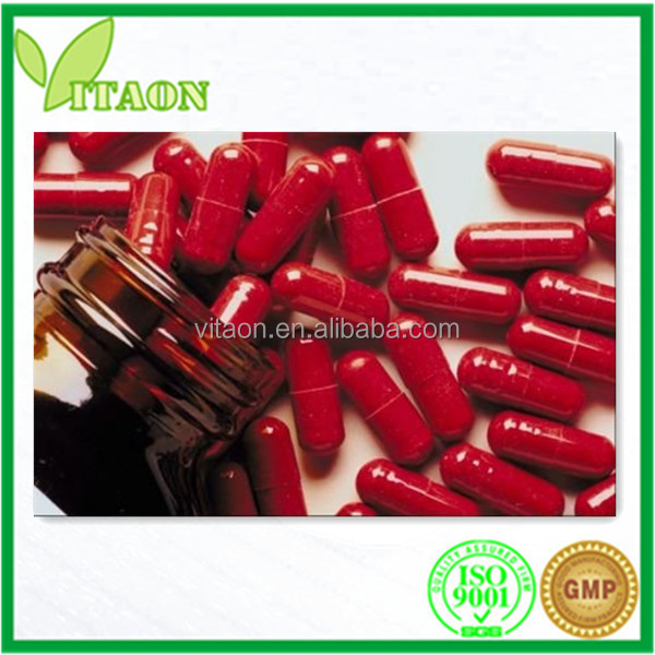 Health care product Reishi Mushroom Capsule 250 mg for Dietary Supplement