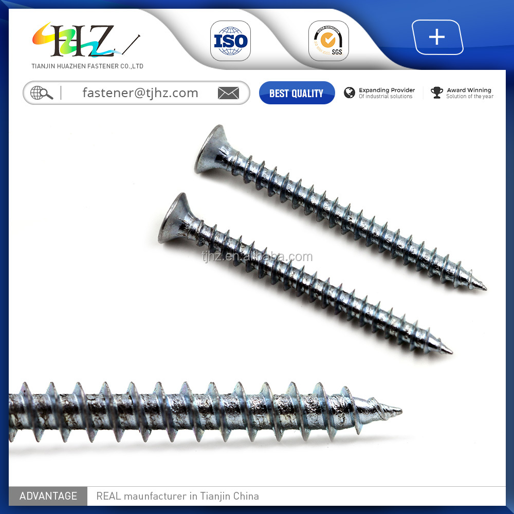 DIN 7981 New hardware products Hex washer slotted Drive Self Tapping Screw