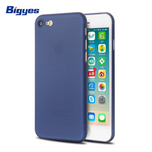 New product plastic pp ultra thin 0.35mm matte shell mobile soft phone cover case for iPhone 7 8