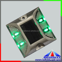 Die Casting Aluminum Road Stud, 2 Sides Reflective Highway Markers, Solar Road Stud Lights