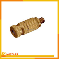 High pressure mist water spray brass fogging nozzle